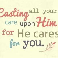 Cast Your Cares Upon God