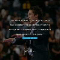 Healing Words By: Joel Osteen