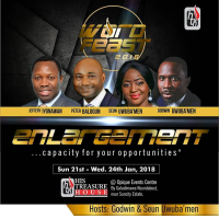 His Treasure House Abuja Presents Word Feast: Enlargement