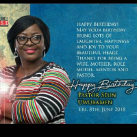 Photos: Happy Birthday Pastor Seun Uwubamen