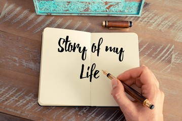 how to start writing a story about your life