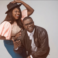 Funke Akindele Bello And Hubby JJC Skillz Welcome Twins