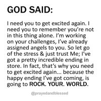 God Is Going To Rock Your World