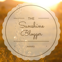 The Sunshine Blogger Award Nod