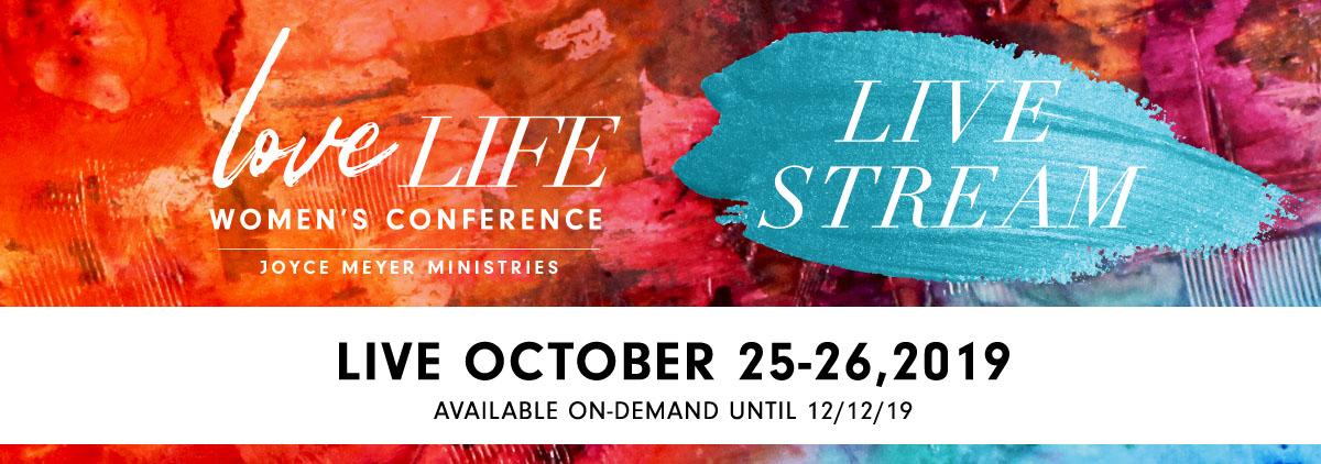 Joyce Meyer Love Life Women's Conference 2019