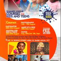 Summit Young Stars NG Presents Summer Unique Courses For Kids And Teens 2019