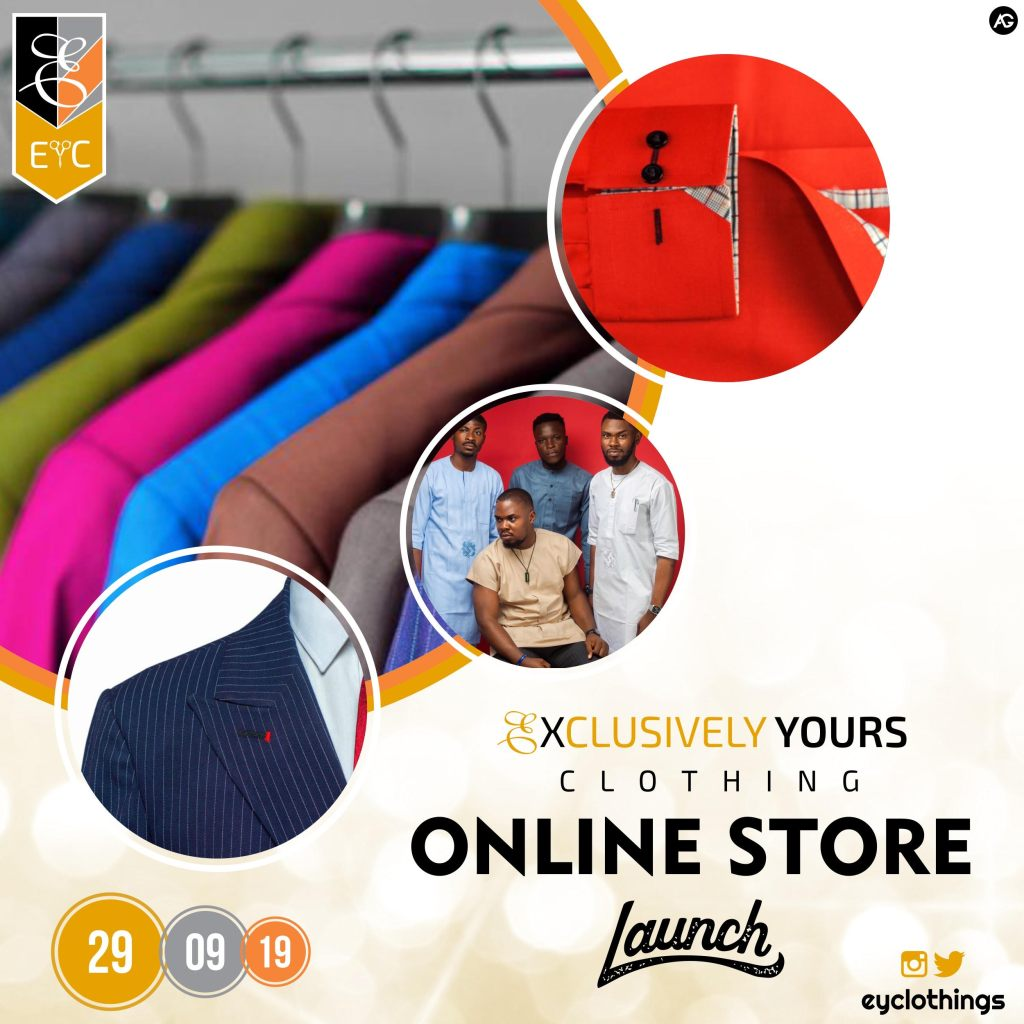 Exclusively Yours Clothing Online Store Launch